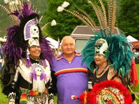 Tom Porter and Aztec Dancers
