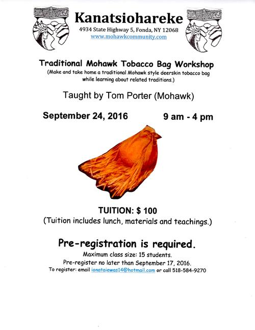 tobacco pouch workshop